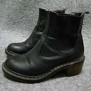 Black Boots (Gum sole)