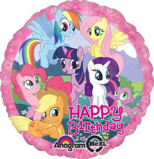 My little pony happy birthday Balloons