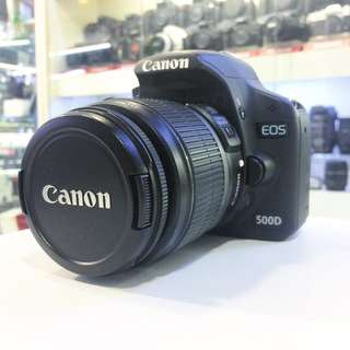 Canon 500D Kit set