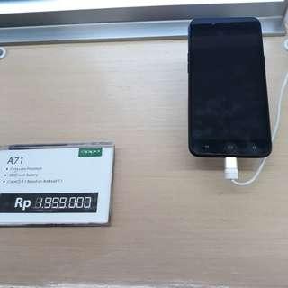 Oppo a71 2GB bisa dicicil tanpa perlu kartu kredit proses 3 menit