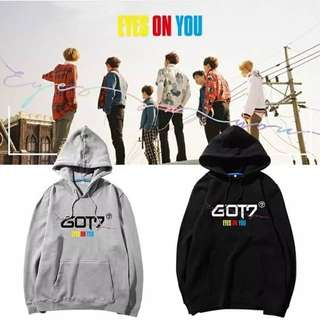 Preorder - GOT7 Eyes On You Hoodie *S-3XL* exc.pos