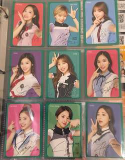 TWICE Photocard Set
