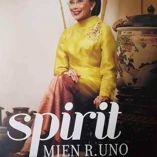 Spirit - Mien Uno. Original autographed hardcover book.