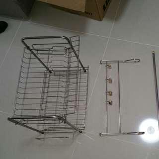Dish Rack stainless steel