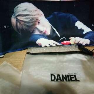 Wanna one Daniel slogan