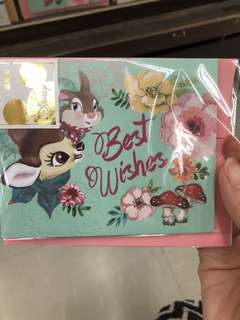 Disney Bambi gift card