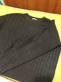 🚚 軍綠針織毛衣