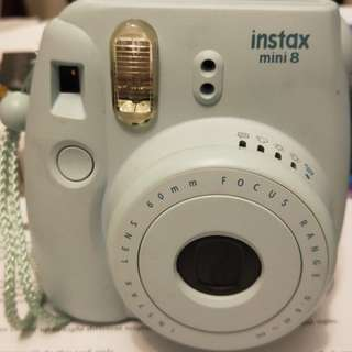 Instax Mini 8 with 10 pack film