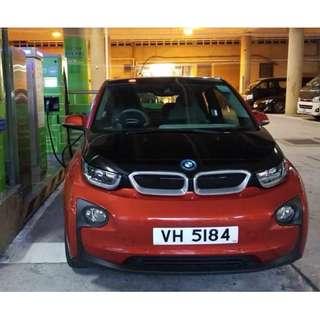 BMW 15年i3 40000公里, 1字