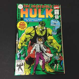 Hulk 393 Marvel Comics Book Stan Lee Movie Avengers