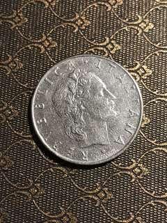 [Italy] 50 Lire 1962