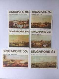 Singapore 1971 Art series mnh