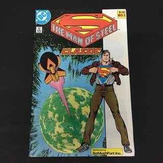 The Man Of Steel 1 DC Comics Book Superman Movie Justice League