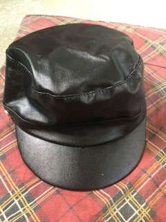 Mayfair leather hat