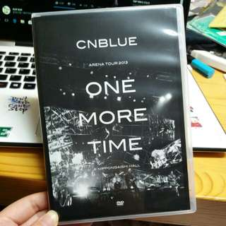 cnblue one more time DVD