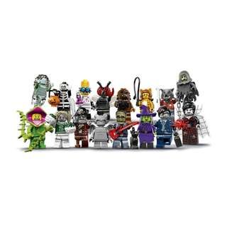 🚚 [INSTOCK] Repacked Complete Sets LEGO Collectible Mini-Figures Series 14 & 15