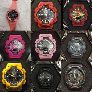 GSHOCK AND BABY G
