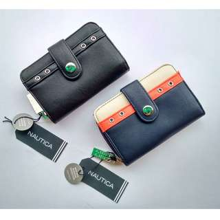 Nautica Montauk Rfid Tab Indexer Wallet Small- SALE!!