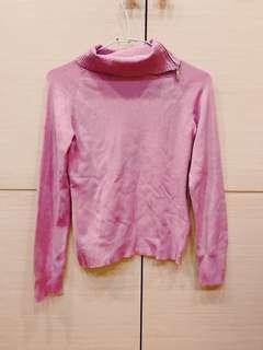🚚 一日特賣100均一Marie Claire 高領拉鍊毛衣Anna sui mercuryduo GU dazzlin