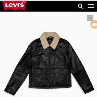🚚 Levi's 皮衣 (降)