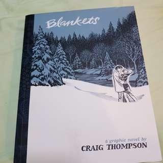 Blankets - Graphic Novel  by Craig Thompson