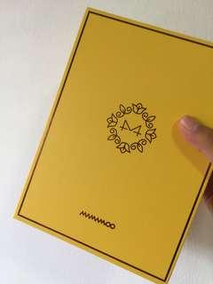 Mamamoo yellow flower Unsealed album!:)