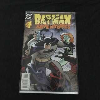 Batman Adventures 1 DC Comics Book Justice League Movie