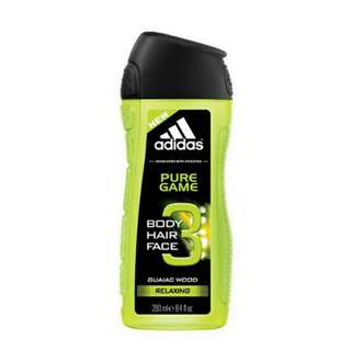 SALE Adidas Pure Game Shower Gel Relaxing 250ml