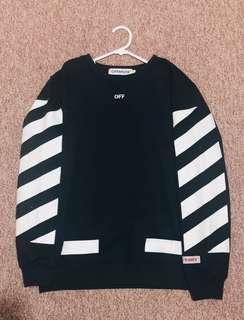 Off-white jumper