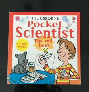 The Usborne Pocket Scientist (The Red Book)