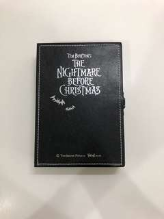jack sally 怪誔城之夜鏡盒連簿 the nightmare before christmas mirror box with notebook