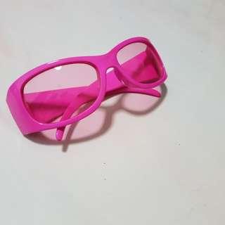 Pink Sunglass Sun shade. for kids.