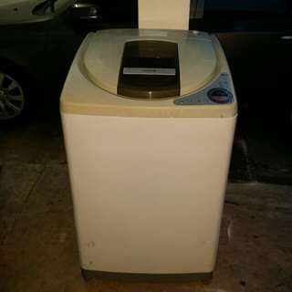 Used Hitachi washer 13.0kg washing machine mesin basuh fully auto stainless steel drum