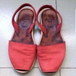 Authentic castell menorca sandals
