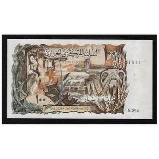 阿爾及利亞紙幣100 第納爾