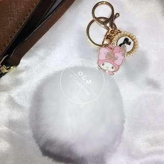My Melody Furball Bag Charm / Keychain
