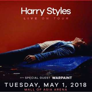 LOOKING FOR HARRY STYLES TICKET