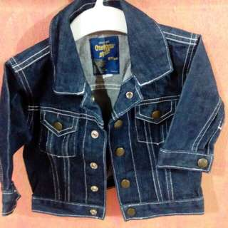 [PRELOVE] OSHKOSH B'GOSH Denim Authentic Jacket for 6 Months Old Baby