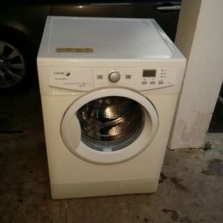Used FAGOR front load hot washer 8.0kg washing machine mesin basuh fully auto