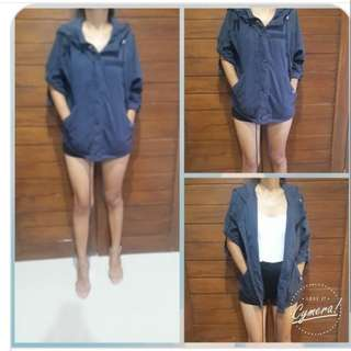 Coat import Navy Fit L