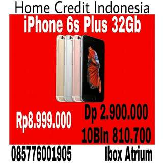 Kredit Iphone 6s Plus 32Gb, proses 20menit Home credit Indonesia