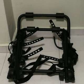 Car rack for bicycle
