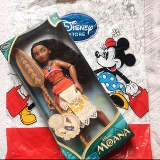 Disney Official UK Moana Classic Doll
