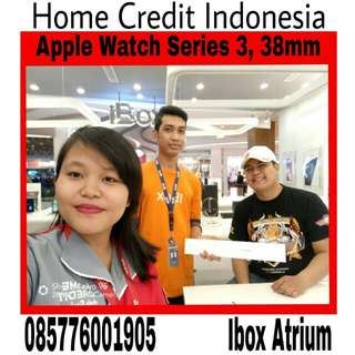 Kredit apple watch series 3 38mm,  proses 20menit home credit Indonesia