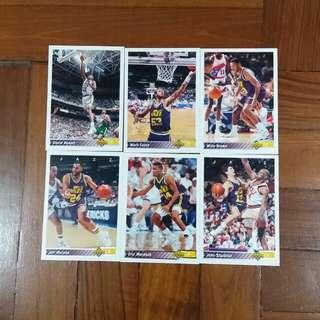 NBA Upper DECK 1992-1993  Utah Jazz 籃球卡