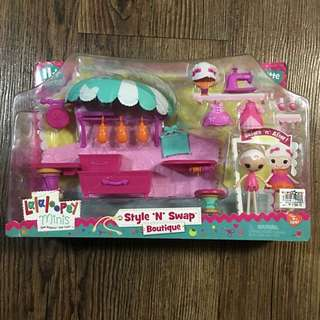 Lalaloopsy minis style n swap boutique