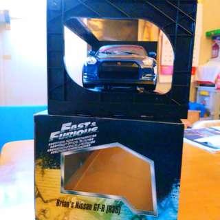 Jada,狂野烈車Brian's GT-R(R35)保羅駕駛的☺😚,全新從未展覽過若沒打算交收勿議價,謝謝!🙏🙏紀念保羅獲加此駕駛車輛.