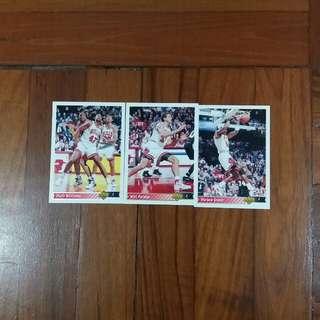 NBA Upper DECK 1992-1993 Chicago Bulls 籃球卡