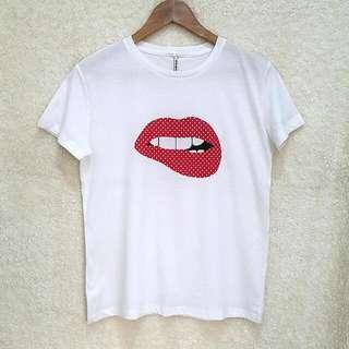 Stradivarius Lips Shirt