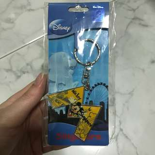 Disney - Mickey Mouse in Singapore Keychain